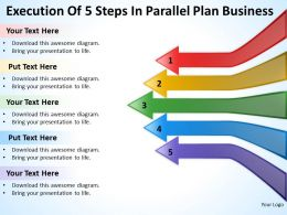 Business Plan Diagram Parallel Powerpoint Templates PPT Backgrounds For Slides