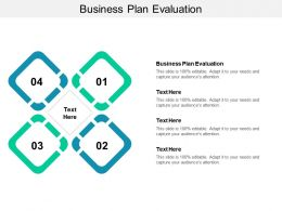 Business Plan Evaluation Ppt Powerpoint Presentation Slides Images Cpb