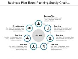 Business Plan Event Planning Supply Chain Management Conflict Management Cpb