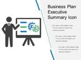 Business Plan Executive Summary Icon