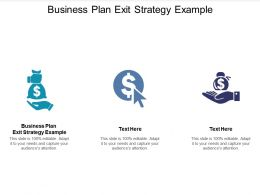 Business Plan Exit Strategy Example Ppt Powerpoint Presentation Inspiration Clipart Cpb