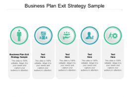 Business Plan Exit Strategy Sample Ppt Powerpoint Presentation Layouts Cpb