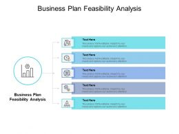 Business Plan Feasibility Analysis Ppt Powerpoint Presentation Model Slide Download Cpb
