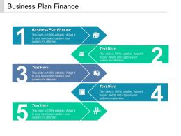 Business Plan Finance Ppt Powerpoint Presentation Styles Clipart Cpb