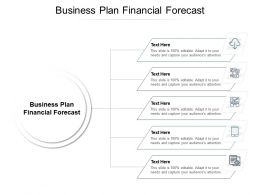 Business Plan Financial Forecast Ppt Powerpoint Presentation Model File Formats Cpb
