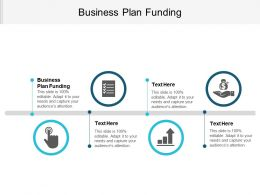 Business Plan Funding Ppt Powerpoint Presentation File Professional Cpb
