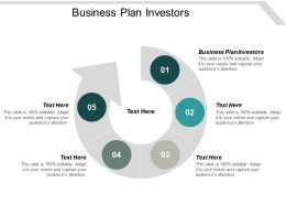 Business Plan Investors Ppt Powerpoint Presentation Visual Aids Backgrounds Cpb