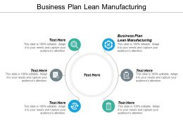 Business Plan Lean Manufacturing Ppt Powerpoint Presentation Styles File Formats Cpb