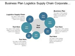 Business Plan Logistics Supply Chain Corporate Event Management Cpb