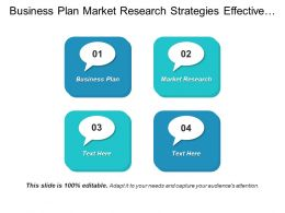 Business Plan Market Research Strategies Effective Consumer Relations Cpb