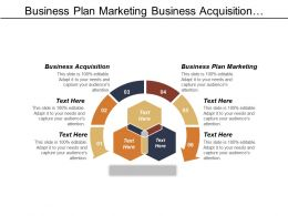 Business Plan Marketing Business Acquisition Organizational Structure Chart