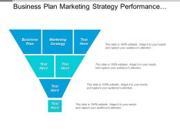 Business Plan Marketing Strategy Performance Management Promotion Tools Cpb