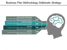 Business Plan Methodology Deliberate Strategy Communication Survey Ab Testing Cpb