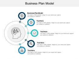 Business Plan Model Ppt Powerpoint Presentation File Visual Aids Cpb