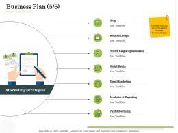 Business Plan Optimization Administration Management Ppt Template