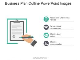 Business Plan Outline Powerpoint Images