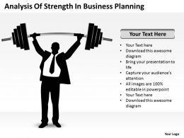 Business Plan Outline Strength Planning Powerpoint Templates PPT Backgrounds For Slides 0527