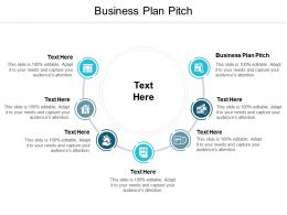 Business Plan Pitch Ppt Powerpoint Presentation Model Images Cpb