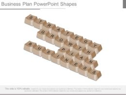 Business Plan Powerpoint Shapes