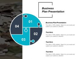 Business Plan Presentation Ppt Powerpoint Presentation File Introduction Cpb