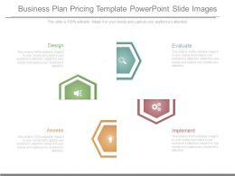 Business Plan Pricing Template Powerpoint Slide Images