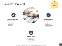 Business Plan Product Business Analysi Overview Ppt Diagrams