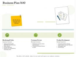 Business Plan Service Administration Management Ppt Themes