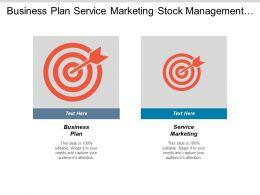 Business Plan Service Marketing Stock Management Sponsorship Event Cpb