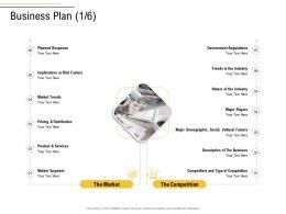 Business Plan Services Segment Business Process Analysis Ppt Designs