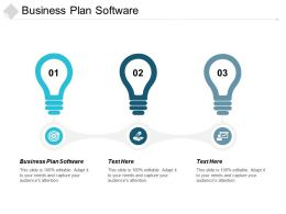 Business Plan Software Ppt Powerpoint Presentation Gallery Shapes Cpb
