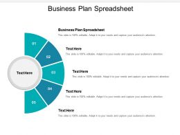 Business Plan Spreadsheet Ppt Powerpoint Presentation Infographics Infographics Cpb