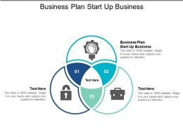 Business Plan Start Up Business Ppt Powerpoint Presentation File Slides Cpb