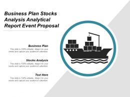 Business Plan Stocks Analysis Analytical Report Event Proposal Cpb