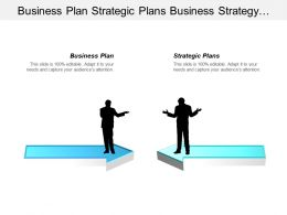 Business Plan Strategic Plans Business Strategy Development Process Cpb