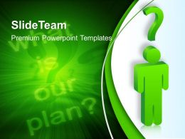 Business Plan Strategy Powerpoint Templates Confusion About Ppt Backgrounds