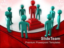 Business Plan Strategy Powerpoint Templates Leader Win Metaphor Company Ppt