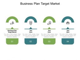 Business Plan Target Market Ppt Powerpoint Presentation Slides Files Cpb