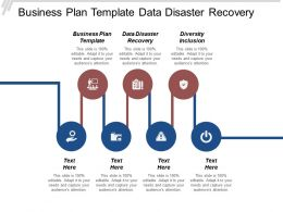 Business Plan Template Data Disaster Recovery Diversity Inclusion Cpb