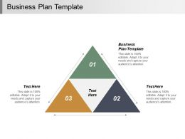 Business Plan Template Ppt Powerpoint Presentation Infographic Template Gallery Cpb
