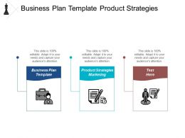 Business Plan Template Product Strategies Marketing Lean Innovation Cpb