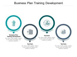 Business Plan Training Development Ppt Powerpoint Presentation Layouts Background Cpb