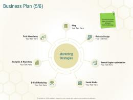 Business Plan Website Business Planning Actionable Steps Ppt Styles Visuals