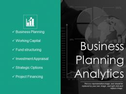 Business Planning Analytics Ppt Diagrams