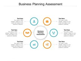Business Planning Assessment Ppt Powerpoint Presentation Summary Layout Cpb