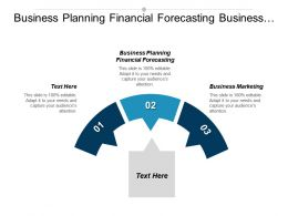 Business Planning Financial Forecasting Business Marketing Return Investment Cpb