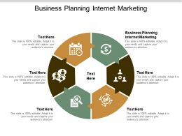 Business Planning Internet Marketing Ppt Powerpoint Presentation Gallery Visuals Cpb
