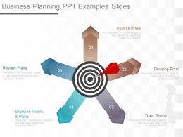 Business Planning Ppt Examples Slides