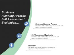 Business Planning Process Self Assessment Evaluation Financial Management Resources Cpb