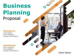 Business Planning Proposal Powerpoint Presentation Slides