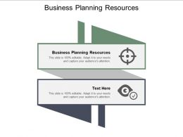Business Planning Resources Ppt Powerpoint Presentation Diagram Lists Cpb